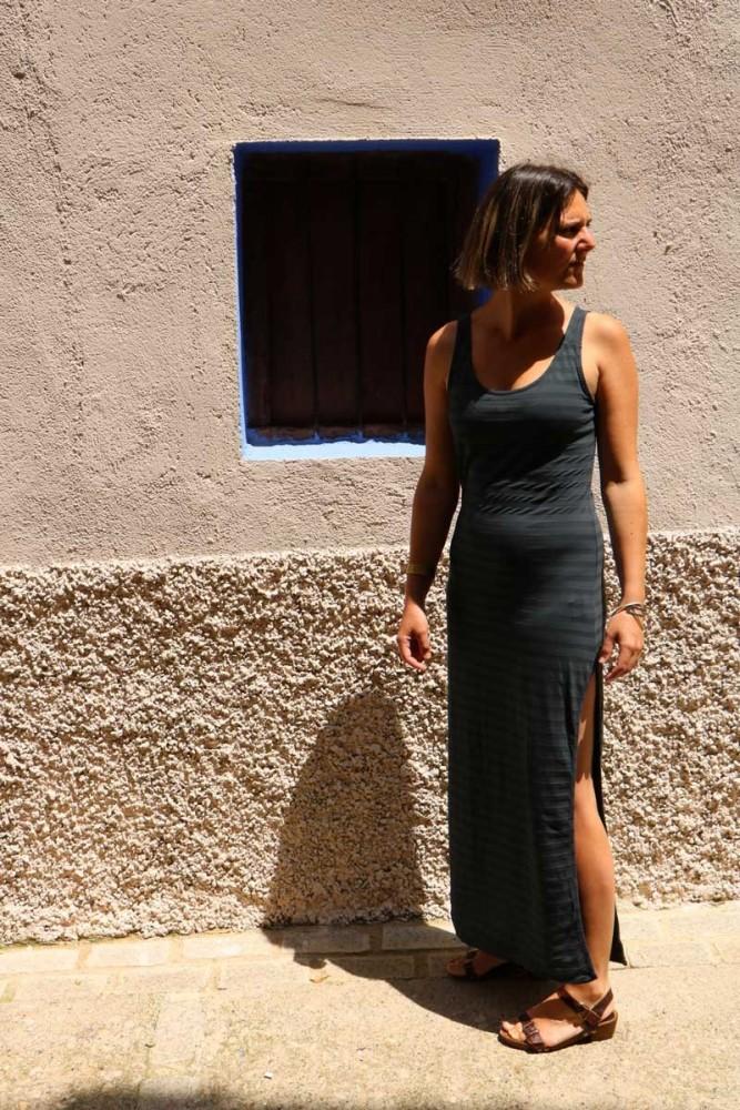 Vestido Enit Rayas
